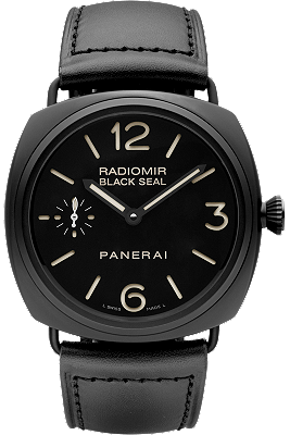 Radiomir Black Seal Ceramica - 45MM at Tourneau | PAM00292