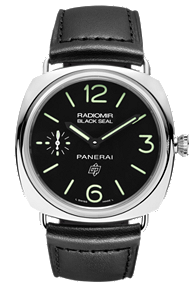 panerai radiomir black seal logo watch