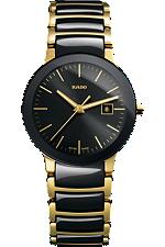 Rado Centrix Small Yellow SS Brac Black Dial | R30930152 at Tourneau