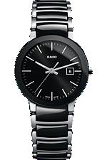 Rado Centrix Small Quartz Black Dial | R30935162 at Tourneau