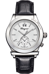 Salvatore Ferragamo 1898 Quartz Dual Time 40mm | F62LDT9902 S009