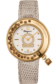 Salvatore Ferragamo | Gancino Sparkling Diamonds 36mm | FF505 0013