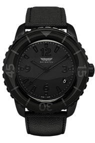 Skywatch | 44 mm 3-hand All Black | CCI001 at Tourneau