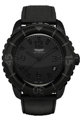 Skywatch | 44 mm 3-hand All Black | CCI001 at Tourneau