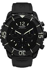 Skywatch   44 mm Chrono Black IP   CCI014 at Tourneau