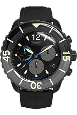 Skywatch | 44mm Chrono Black IP | CCI019 at Tourneau