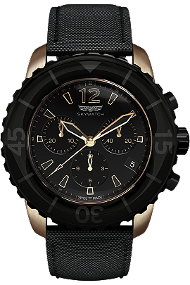 Skywatch | 44 mm Chrono Rose Gold | CCI028 at Tourneau