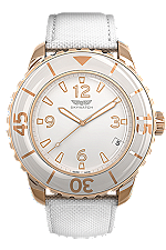 44 mm Rose Gold 3-hand at Tourneau