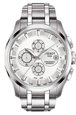 Couturier Men's Silver Chronograph Automatic Trend at Tourneau