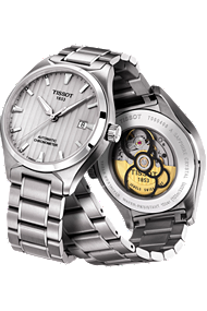 T-Tempo COSC Men's Automatic Silver Classic at Tourneau