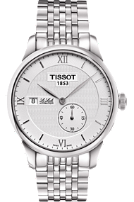 Le Locle Small Second Men's Automatic - Silver Dial and Stainless steel Bracelet at Tourneau