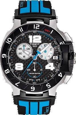 T-Race Men's Moto GP Limited Edition 2013 Black Quartz Watch at Tourneau