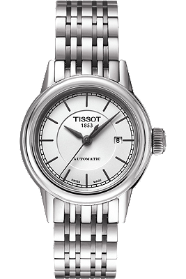 Carson Women's Automatic White Watch with Stainless steel Bracelet at Tourneau