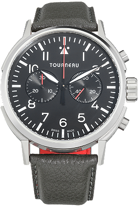 TNY 44mm Chronograph Aviator in Stainless Steel at Tourneau