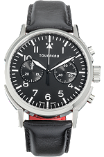 TNY 40mm Chronograph Aviator in Stainless Steel at Tourneau