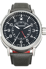 TNY 44mm Aviator GMT in Stainless Steel at Tourneau
