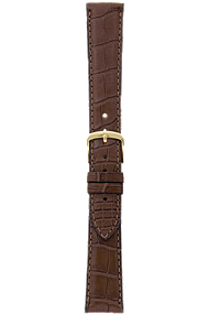 20 mm Chestnut Alligator Strap at Tourneau