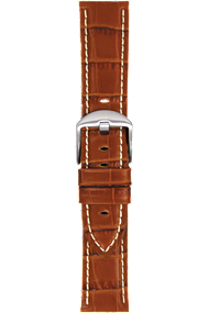 20 mm Tan Calf Strap at Tourneau