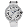 18K White Gold Ballon Bleu Automatic