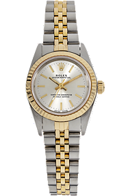 18K Yellow Gold and Stainless Steel Oyster Perpetual Automatic at Tourneau