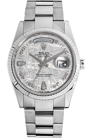 18K White Gold Day-Date Automatic at Tourneau